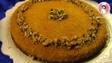 Photo of بالفيديو ..الكنافة الخشنة بالقشطة المطبوخة اللذيذة كنافة سهلة وسريعة والمذاق رائع