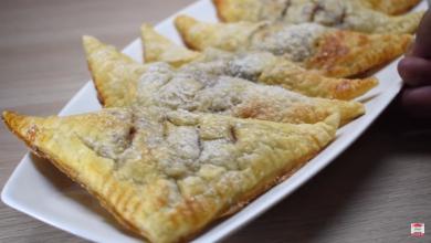 Photo of طريقة تحضير فطيرة التفاح اسهل طريقة واطيب طعم (فيديو)