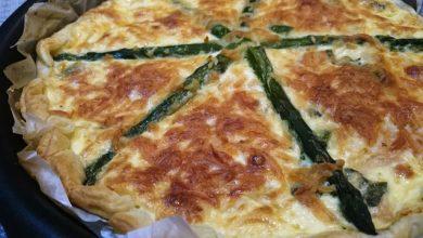 Photo of طريقة تحضير تارت مالح بالجبن والهليون
