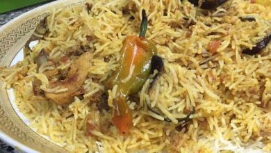 Photo of طريقة تحضير الرز البرياني بالدجاج