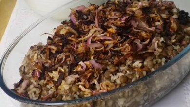 Photo of مجدرة العدس بالبرغل: طبق لبنانيّ لذيذ من زمن الأجداد!
