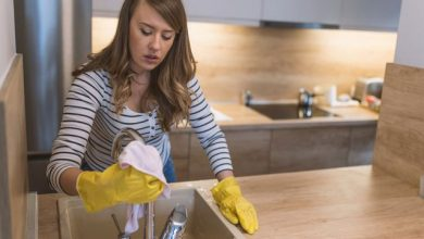 Photo of اغراض لا تنظفينها في مطبخك ولكن عليك بذلك لانها ممتلئة بالبكتيريا