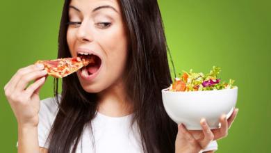Photo of جدول بالأطعمة التي تتكدس في كل منطقة من جسمك!
