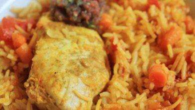 Photo of طريقة عمل الأرز البخاري بالدجاج